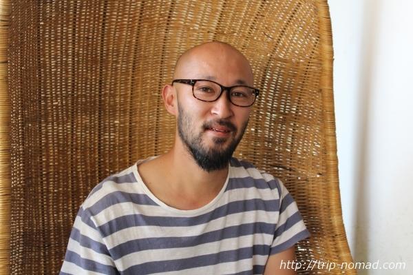 カンボジア『Green on Peace cafe&bar(グリーン・オン・ピース カフェ&バー)』オーナーの野池さん画像
