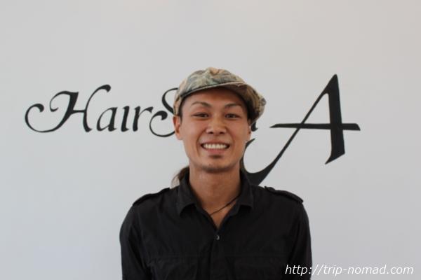 カンボジア『ヘアーサロンA』鈴木彰義氏画像