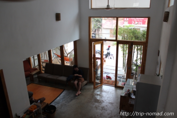 カンボジア『高知家』建物内画像