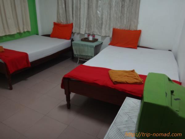 カンボジア・シェムリアップ・クロマーヤマトゲストハウス部屋内画像