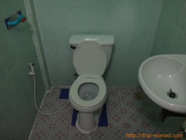 カンボジア・シェムリアップ・クロマーヤマトゲストハウストイレ画像
