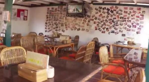 カンボジア・シェムリアップ・クロマーヤマトゲストハウスレストラン画像