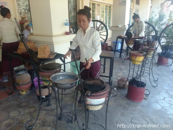 カンボジア・シェムリアップ・『カンボジアティータイム』の「納豆」画像