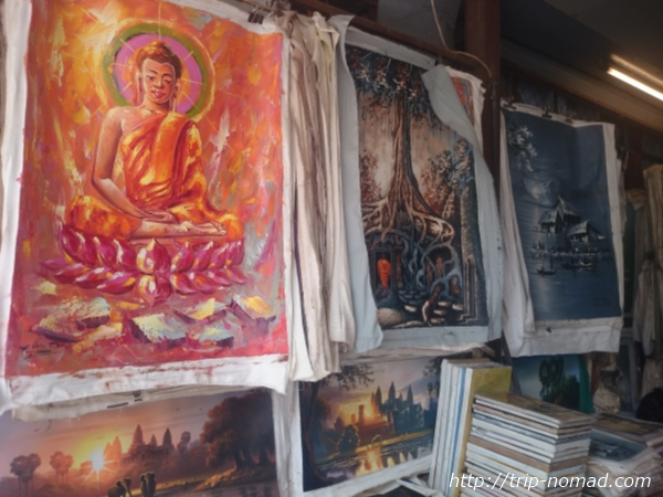 カンボジア・シェムリアップ『オールドマーケット』画像