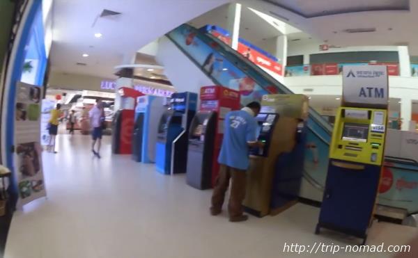 カンボジア・シェムリアップ「ラッキーモール」ATM画像