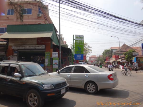 【カンボジア】シェムリアップ「BROS THOM MOBILE PHONE SHOP」お店画像