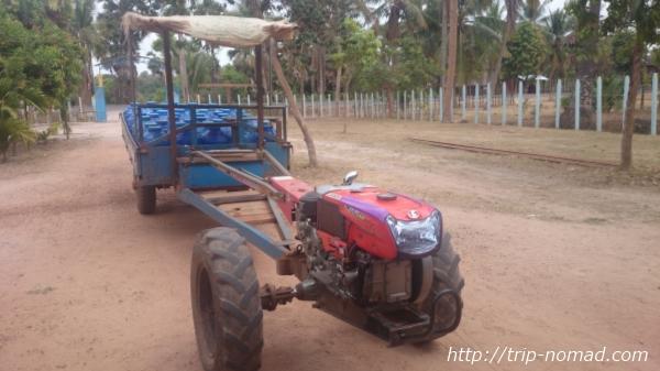 カンボジア『クボタのトラクター』「RT140」画像