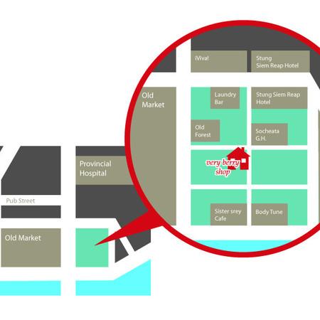 カンボジア『ベリーベリー』地図画像