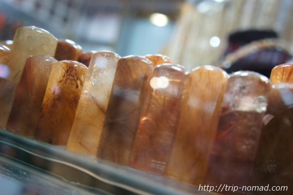 広州パワーストーン市場『リワン・プラザ』ルチル印鑑画像