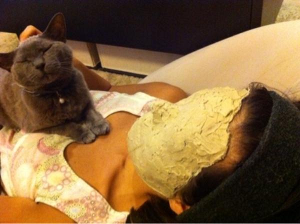 ハワイ『Lovable Beauty Hawaii』主宰の満田恵(megmin)『クレイ』で顔パックデトックス画像