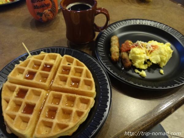 アメリカ・セドナ『セドナ・リアル・イン・スイーツ』朝食画像