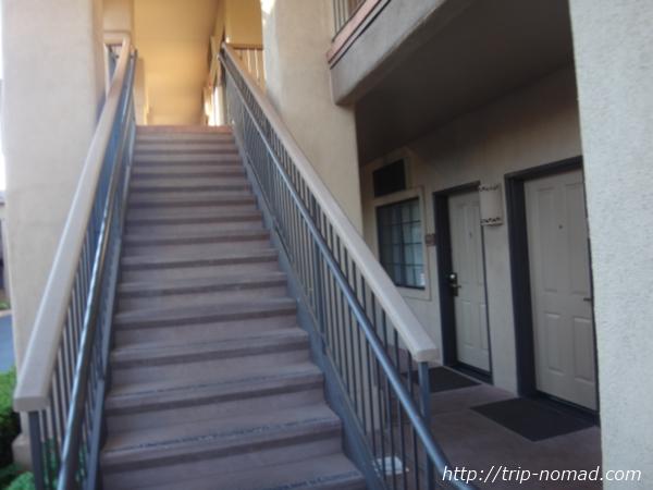 アメリカ・セドナ『セドナ・リアル・イン・スイーツ』階段画像