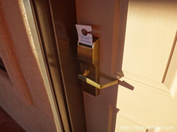 アメリカ・セドナ『セドナ・リアル・イン・スイーツ』部屋のドア画像