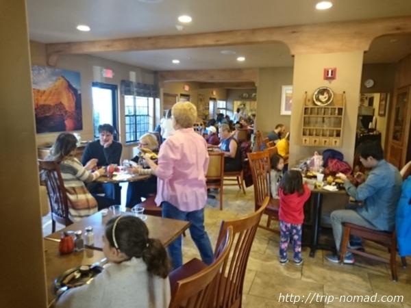 アメリカ・セドナ『セドナ・リアル・イン・スイーツ』レストラン朝食画像
