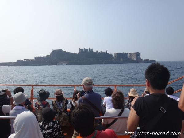 『軍艦島ツアー』比較画像