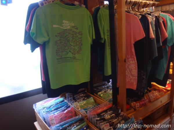 御蔵島『ふくまる商店』Tシャツや手ぬぐい販売画像