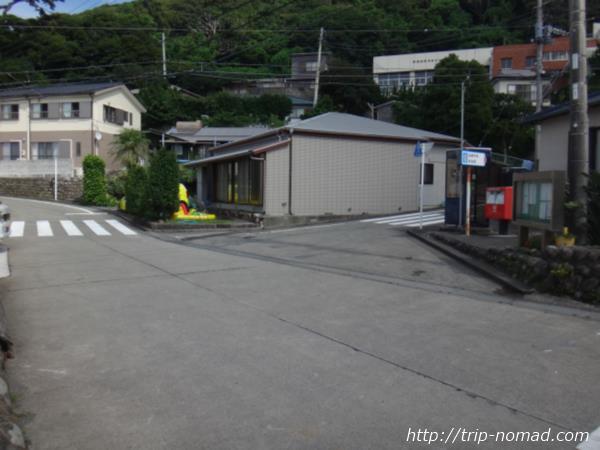 御蔵島『スクランブル交差点』画像