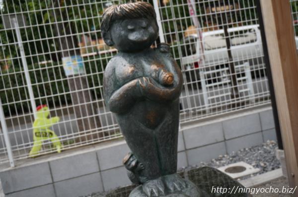 日本橋人形町『水天宮仮宮』安産子育河童画像