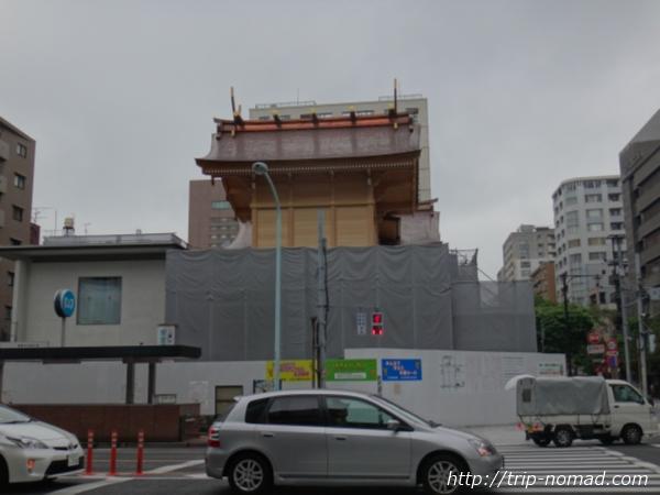 日本橋人形町工事中『水天宮』画像