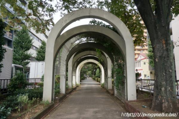 日本橋人形町安産神様『水天宮仮宮』浜町緑道画像