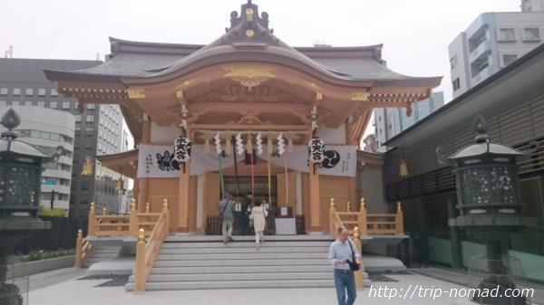 日本橋人形町新しい『水天宮』画像