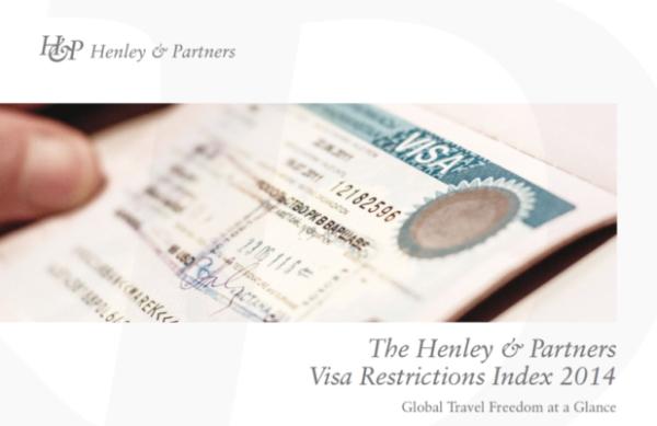 ヘンリー・アンド・パートナーズ『パスポート世界最強ランキング』画像