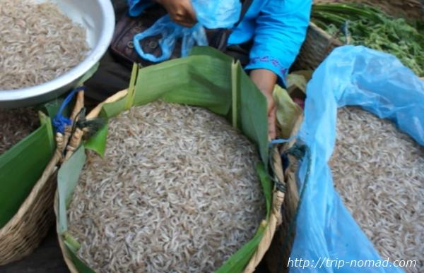 ラオス『ルアンパバーン』食材小魚画像