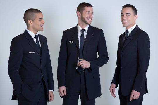 『 世界一おしゃれな客室乗務員の制服』エールフランス(Air France)画像