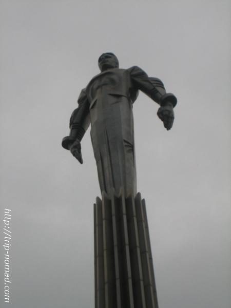 ロシアモスクワ『ガガーリンの銅像』画像