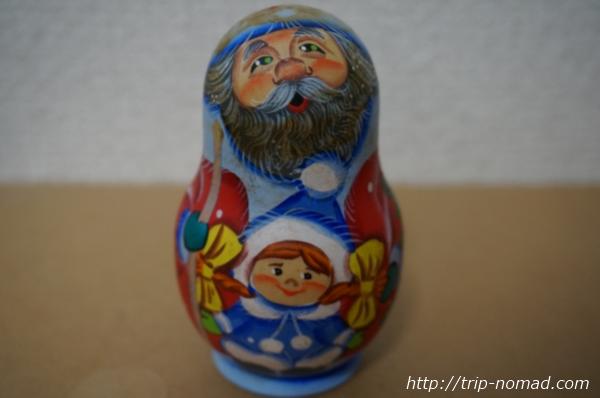 ロシア『レアなマトリョーシカ』サンタクロース画像