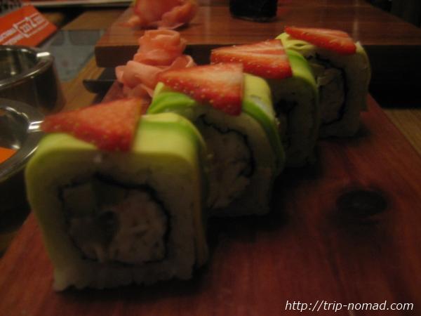 『ロシアの寿司』アボカドロール画像
