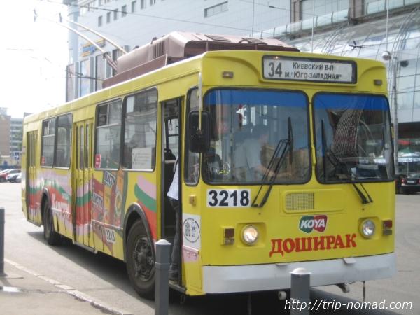 ロシア車バス画像