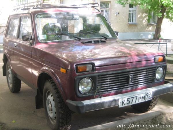 ロシア車『ニーヴァ』画像
