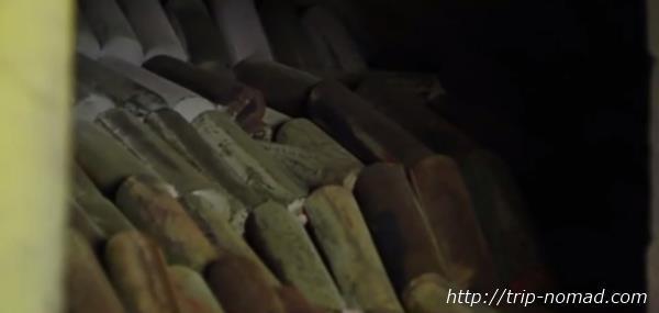 ロシア・モスクワ「サンドゥヌィ」バーニャ熱源木炭画像