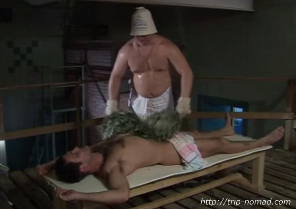 ロシア・モスクワ「サンドゥヌィ」バーニャ葉っぱ(ベーニク)画像