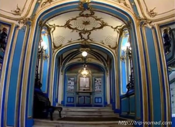 ロシア・モスクワ「サンドゥヌィ」建物内画像