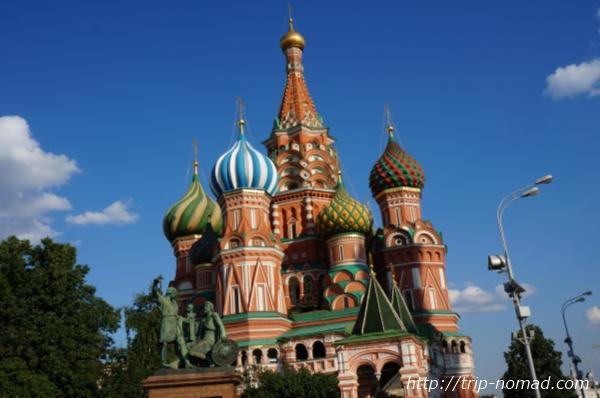 ロシア『聖ワシリイ大聖堂』画像