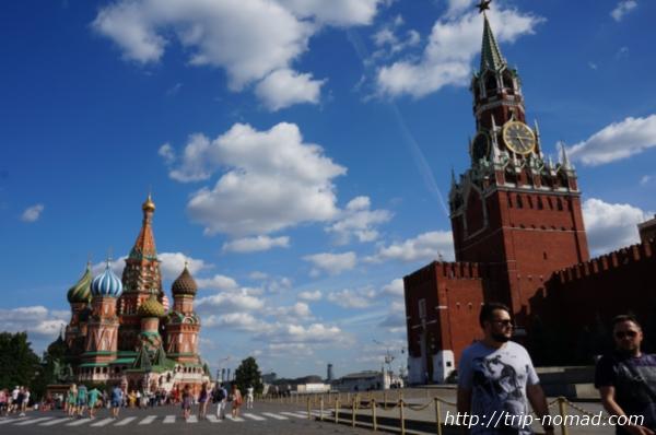 ロシア『赤の広場』画像
