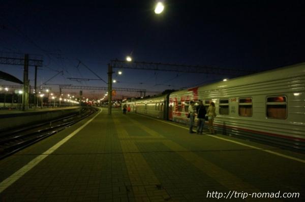 ロシア・シベリア鉄道『モスクワ・ヤロスラヴリ(Ярославский вокзал)』駅画像