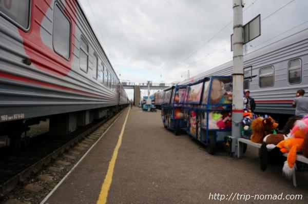 ロシア・シベリア鉄道『キーロフ(Киров)』駅画像