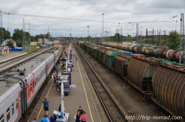 ロシア・シベリア鉄道『バレジノ(Балезино)』駅画像