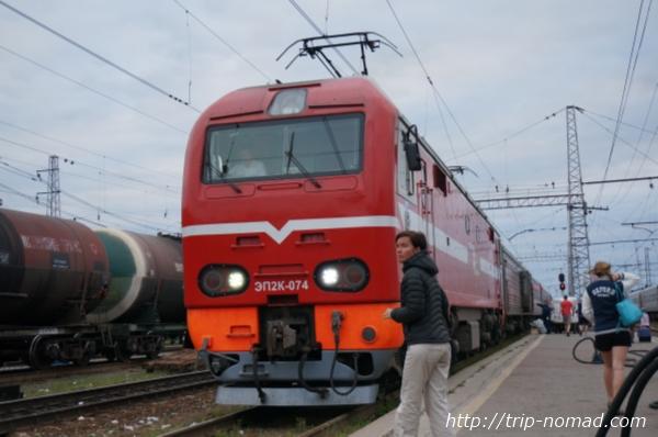 ロシア・シベリア鉄道『ペルミ(Пермь)』駅画像