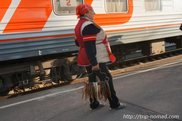 ロシア・シベリア鉄道『オムスク(Омск)』駅画像