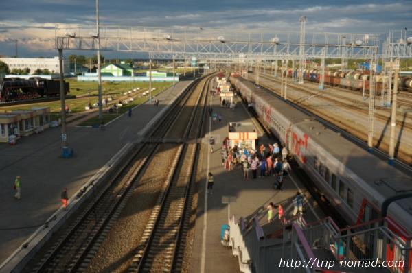 ロシア・シベリア鉄道『バラビンスク(Барабинск)』駅画像