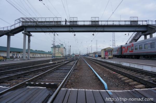 ロシア・シベリア鉄道『マリインスク(Мариинск)』駅画像