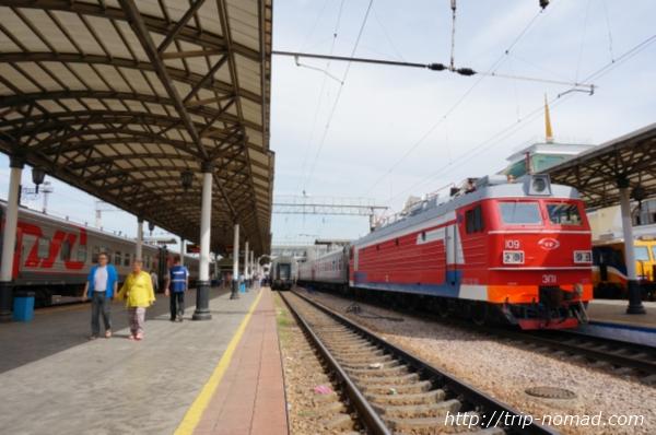 ロシア・シベリア鉄道車両画像