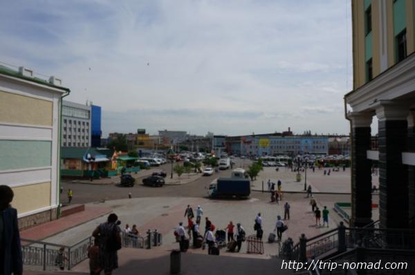 ロシア・シベリア鉄道『クラスノヤルスク(Красноярск)』駅画像