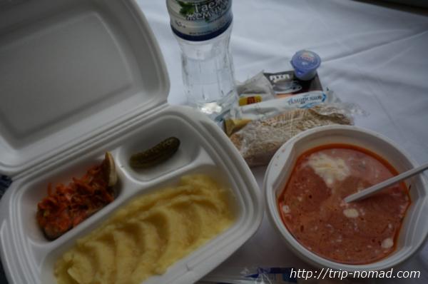 ロシア・シベリア鉄道『車内食』画像