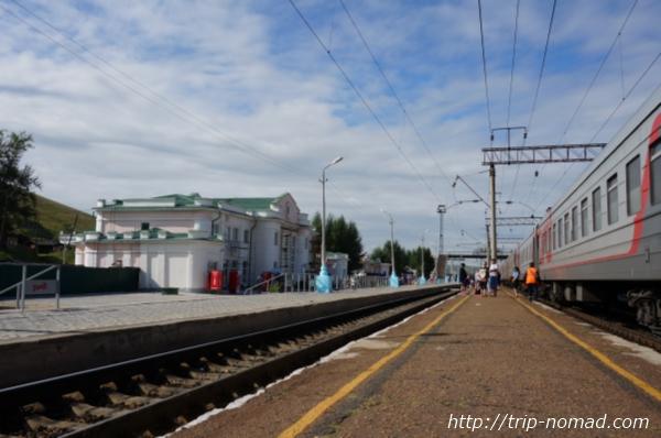 ロシア・シベリア鉄道『チェルヌイシェフスク・ザバイカリスキー(Чернышевск-Забайкальский)』駅画像
