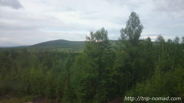 ロシア・シベリア鉄道『車窓』画像